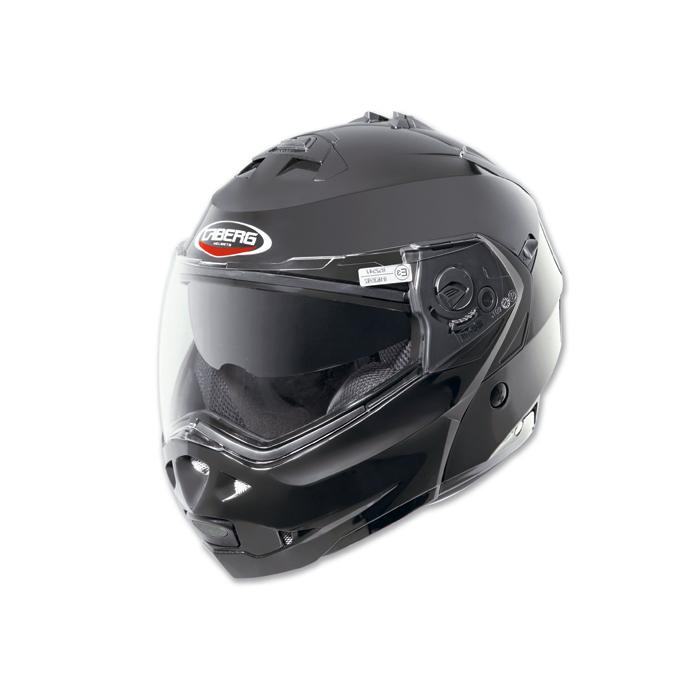 Moto prilby Caberg Duke Smart čierna lesklá vypredaj výpredaj