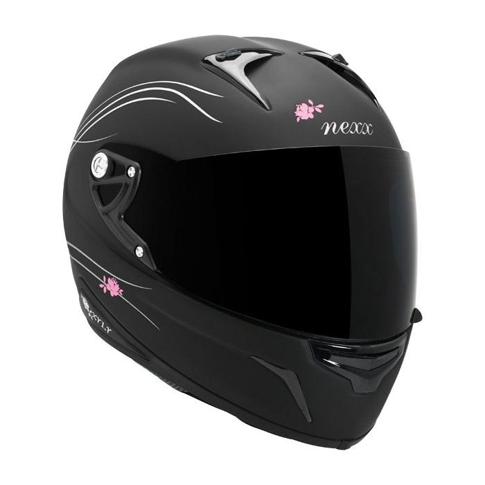 Moto přilba Nexx-XR1.R Glam černá dámská