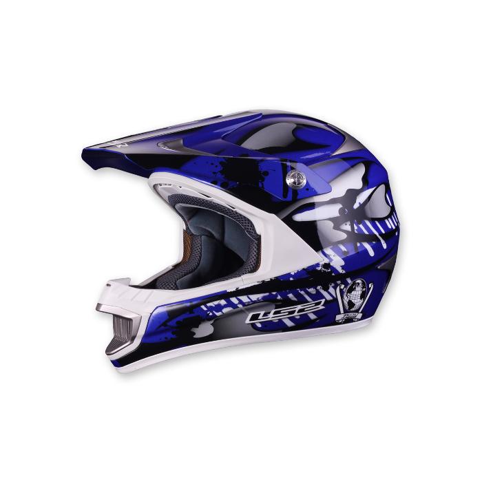 Motokrosová přilba LS2 MX442 Magma modrá