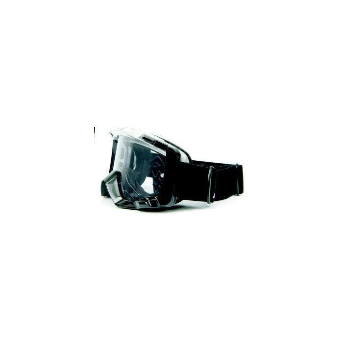 Motokrosové brýle M-Line T7058 stříbrno-černé