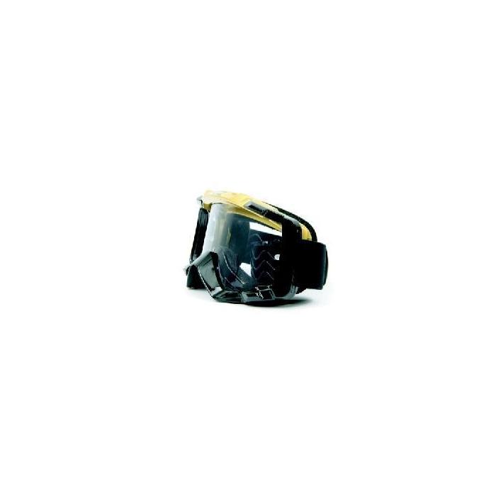 Motokrosové okuliare M-Line T7058 zlato-čierne