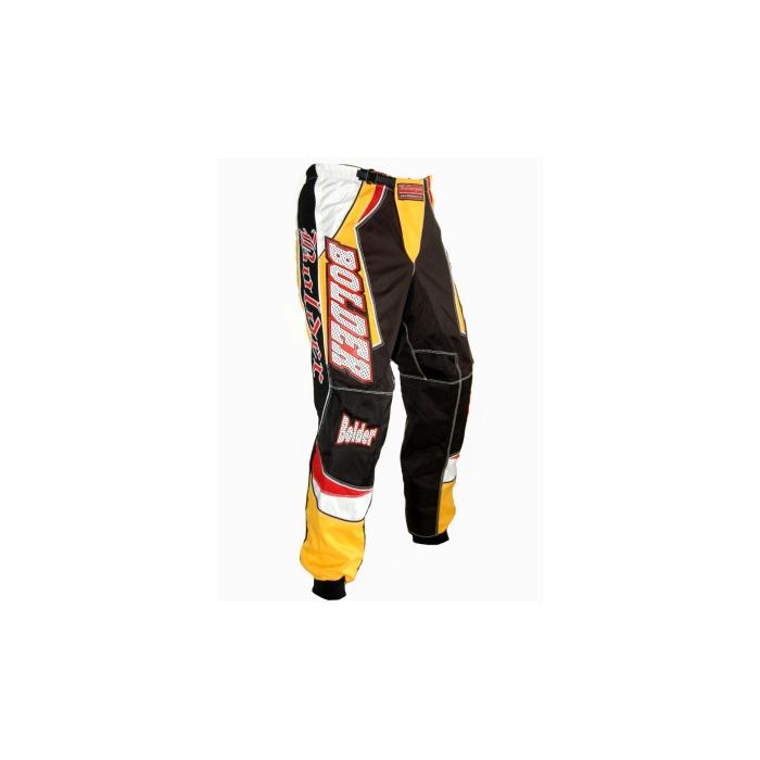 MX kalhoty Bolder-Cross 928 Černo-žluté - vel. 36
