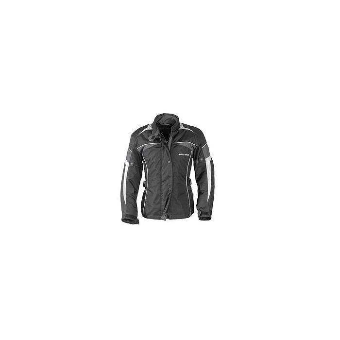 Pánská bunda na moto CYCLE SPIRIT 0207 šedá vel 50