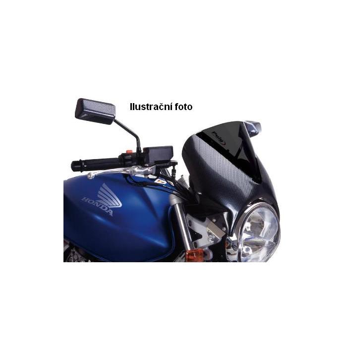 Plexi na moto carbon-dymové plexi