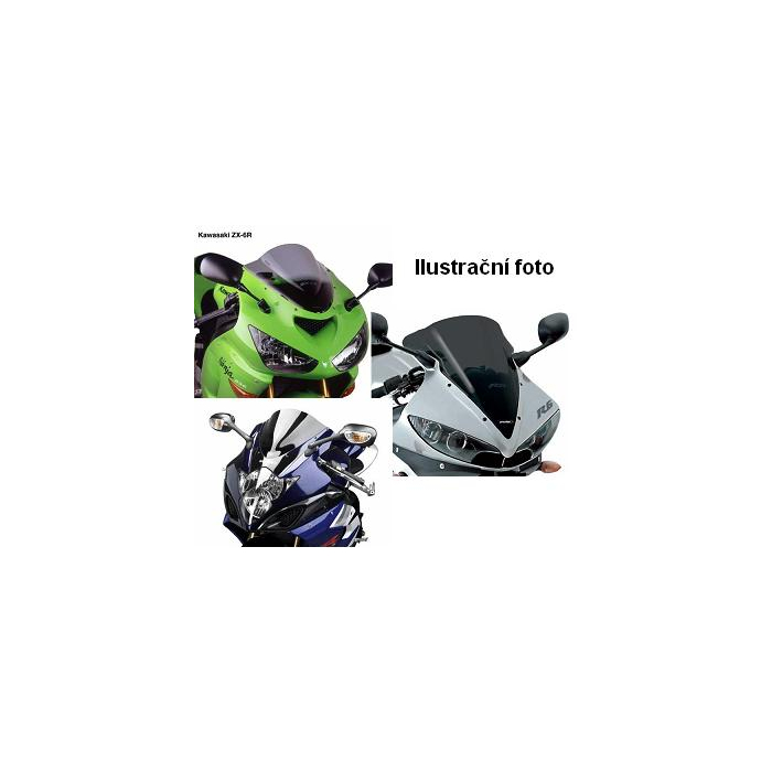 Plexi na moto kouřové Puig-Kawasaki ZX-6R (00-02)