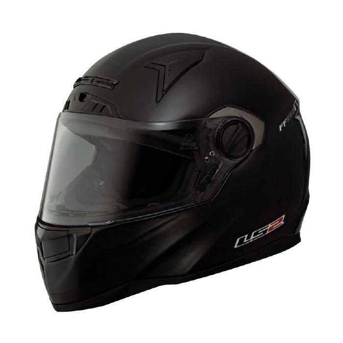 Prilba na motorku LS2 FT2 Single Mono čierna matná vypredaj výpredaj