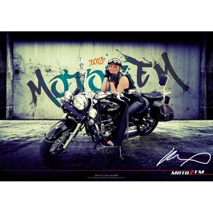 Speciální edice benefičního moto kalendáře 2013