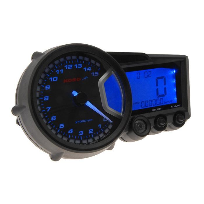 Univerzální moto budíky Koso-RX2