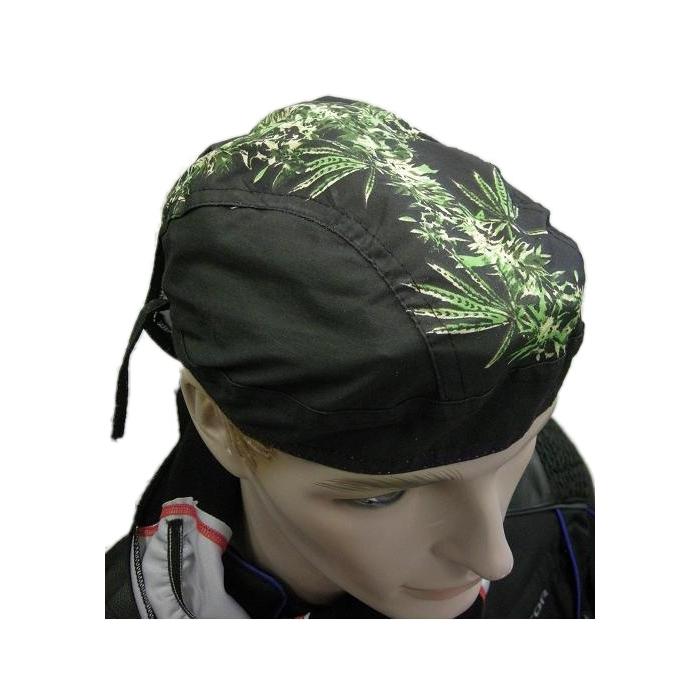 Šatka na moto Zanhead-Green leaves