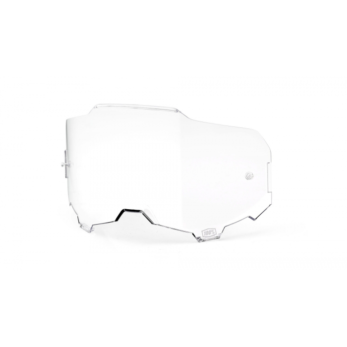 Číre sklo do okuliarov 100% ARMEGA
