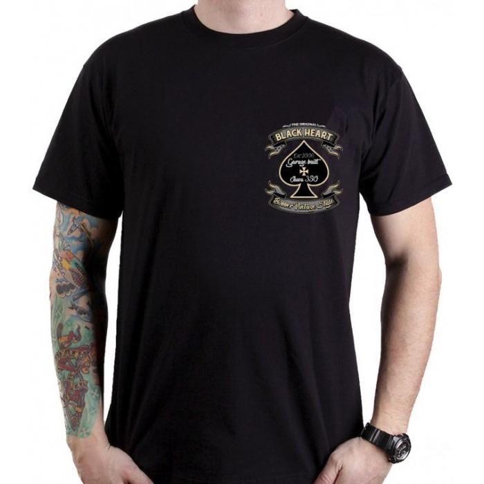 Pánske tričko Black Heart Jawa 350