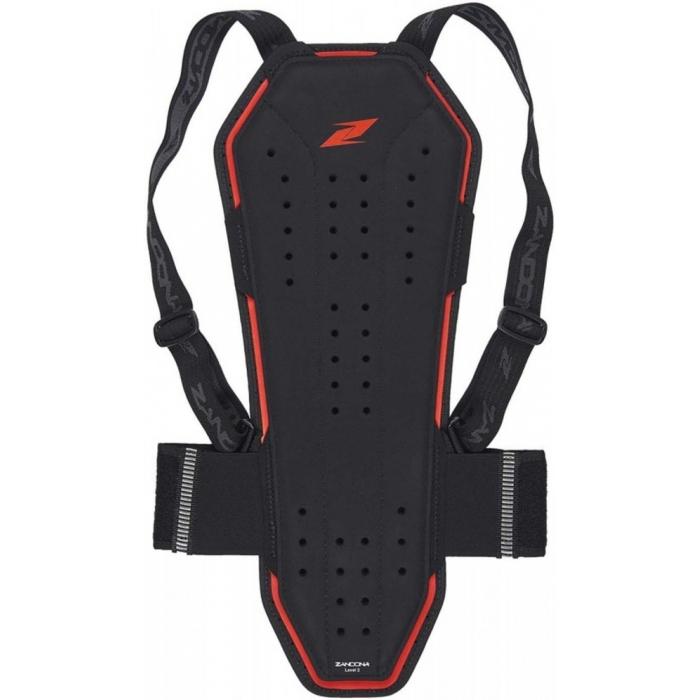 Chrbticový chránič Zandona Prosoft Back X8 čierny 178-187 cm