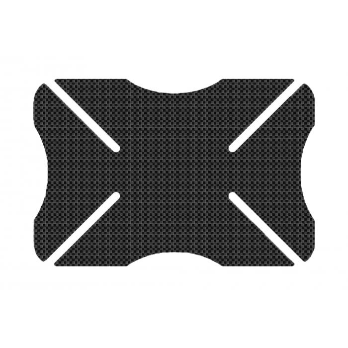Protektor laku prilby Oxford Helmet Bumper imitácia karbón