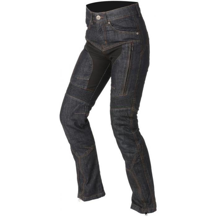 Dámske jeansy na motocykel Ayrton Date modré výpredaj